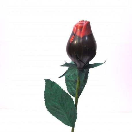 Rose en chocolat noir