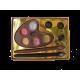 Palette du peintre en chocolat