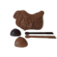 Set d'Equitation en chocolat