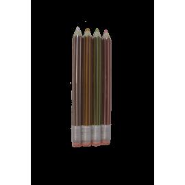 Mini Tablette Crayons de couleurs en Chocolat