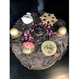 Merveilleux chocolat noir 6 pers. Noël