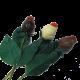 Bouquet de 3 roses en Chocolat