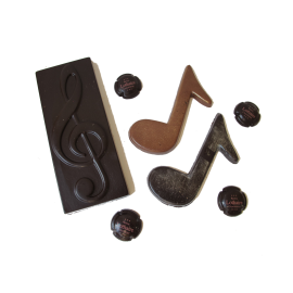 Set de Musique en chocolat