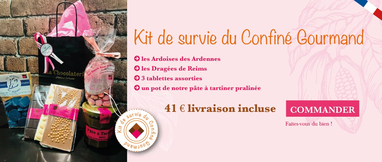 Kit de survie du confiné gourmand